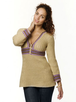 Simple Tunic in Caron Simply Soft - Downloadable PDF