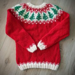 Christmas Lopi Sweater