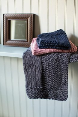 Bordered Washcloth