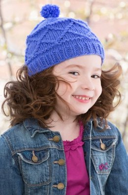 Carousel Hat in Red Heart With Love Solids - LW4194