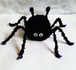 Hairy Halloween Spider - Chocolate Orange Cover