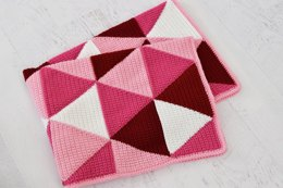 Ombre Triangle Blanket