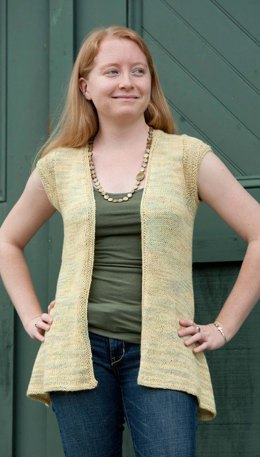 Hand Paint Open Front Cardi in Classic Elite Yarns Silky Alpaca Lace