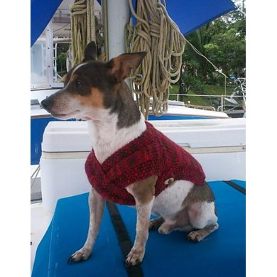 The Admiral's Dog Sweater