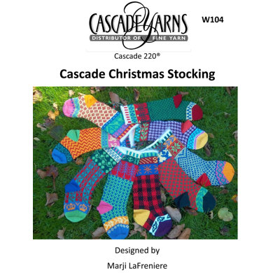 Christmas Stockings in Cascade 220 - W104