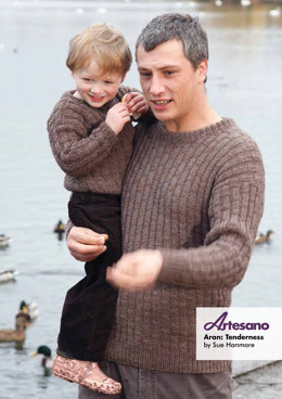 Tenderness Sweater in Artesano Aran