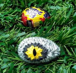Dinosaur Velociraptor Eye - Chocolate Egg Cover
