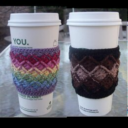 Bavarian Crochet Thread Coffee Cozies
