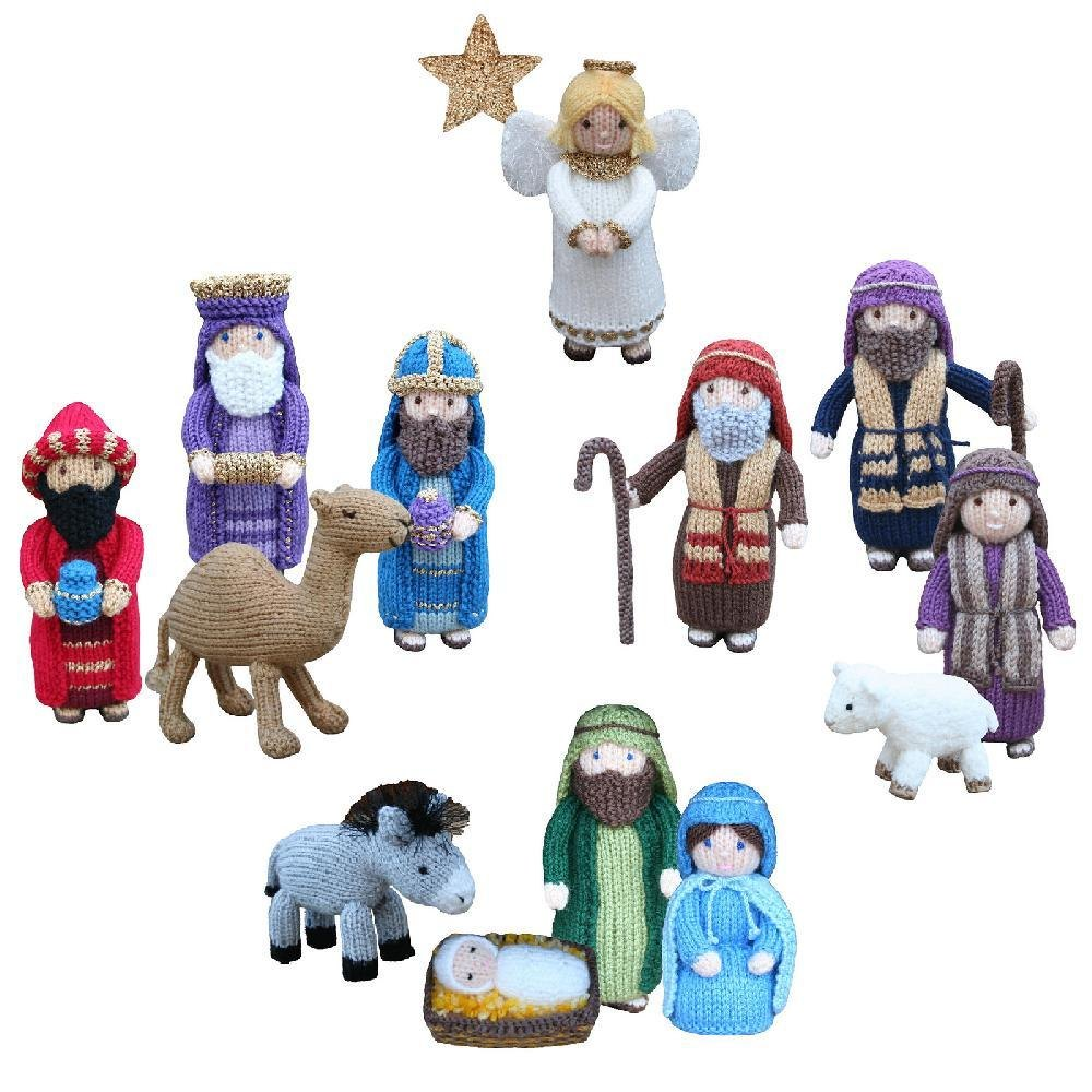 Knitting Pattern Christmas Crib Nativity Scene Booklet : Christmas Nativity Collection Knitting pattern by Knitables Knitting Patter...
