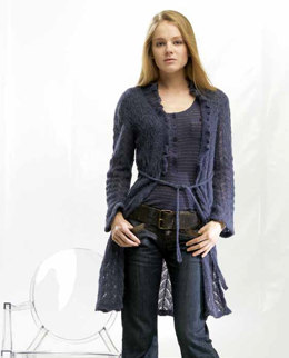 Leichte Jacke in Lang Yarns Alpaca Superlight - Downloadable PDF