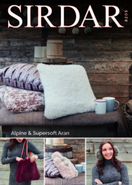 Home Accessories in Sirdar Alpine - 8205 - Downloadable PDF