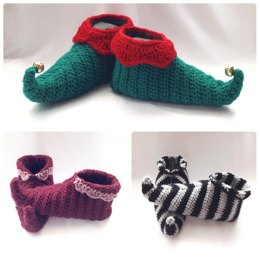 Curly Toes Elf Slipper Shoes
