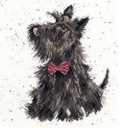 Bothy Threads Scottie Dog Cross Stitch Kit