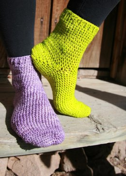 Mix & Match Cuff Down Socks