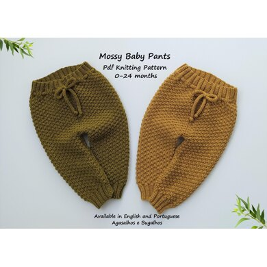 Mossy Baby Pants