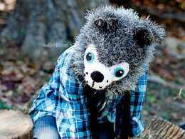 Raff The Furry Wolf Hat