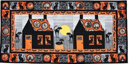 Michael Miller Fabrics Bats and Black Cats Quilt - Downloadable PDF