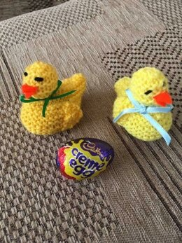 Easter Chicks - with Cadbury's Creme Eggs