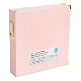 We R Memory Keepers Paper Wrapped Album - Pink