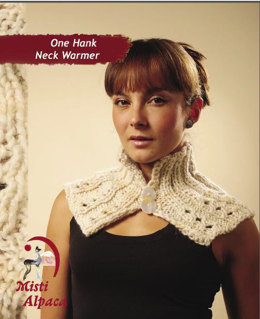 One Hank Neck Warmer in Misti Alpaca Hand Paint Chunky - 2037