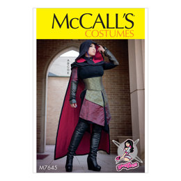 McCall's Misses' Dress, Corset, Hood, Cape, and Gusset Costume M7645 - Sewing Pattern