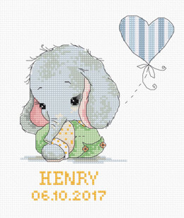 Luca-S Baby Cross Stitch Kit