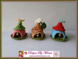 Crochet Gnome Home Pattern Unique Miniature Fairy House