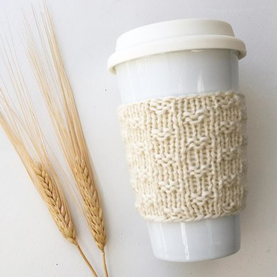 Ida Coffee Cozy Cup Sleeve Knitting Pattern By Cluck Cluck Boots