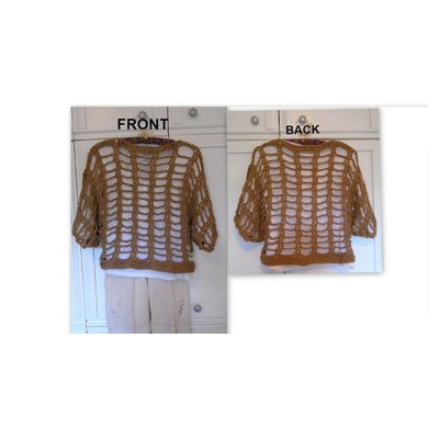#843 3/4 sleeve Summer Pullover Sweater