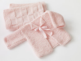 Baby's First Cardigan in Lion Brand Jiffy - 60131AD