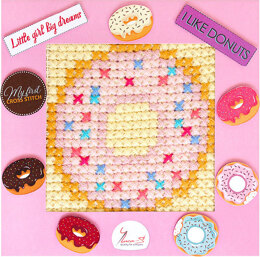 Luca-S My First Cross Stitch Kit - Donuts - BX09