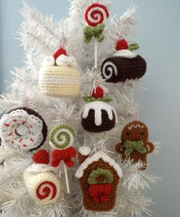 Christmas Sweets Ornament Set