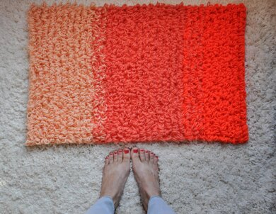 Ombre' Loop Stitch Rug