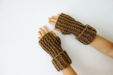 Super Chunky Arm Warmers