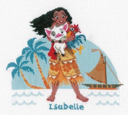 Vervaco Moana Cross Stitch Kit - Multi