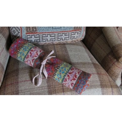 Norah Fairisle Needle Wrap