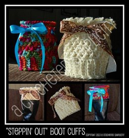 """Steppin' Out"" Boot Cuffs"