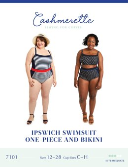 Cashmerette Ipswich Swimsuit 7101 - Sewing Pattern