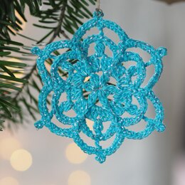 Winter Flower Snowflake