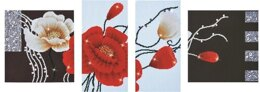 Diamond Dotz Art Deco Poppies Diamond Dotz Kit - DD14-002