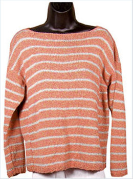 Beachcombing Pullover in Knit One Crochet Too 2nd Time Cotton - 1204