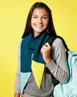 Dipped Points Scarf in Caron Simply Soft and Simply Soft Collection - Downloadable PDF