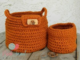 Rustic Basket Set