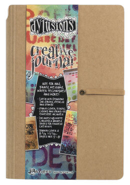 "Ranger Dyan Reaveley's Dylusions Creative Journal 8.375""X5.625"" - Kraft"
