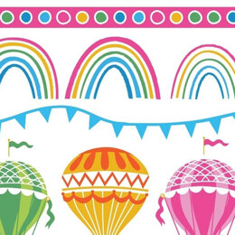 Craft Cotton Company Hot Air Balloon - Balloons & Rainbow