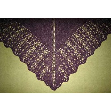 Simple Lace Shawl