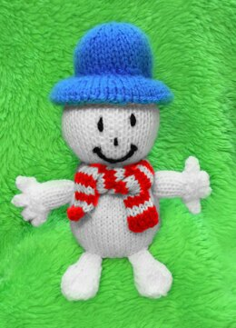 Mr Snow from Mr Men