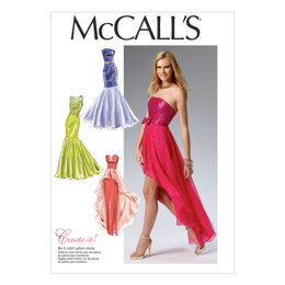 McCall's Misses' Dress M6838 - Sewing Pattern