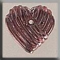 Mill Hill Bead MH12215 - Grooved Heart Rose