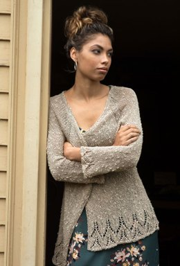 Freer Cardigan in Berroco Quinoa - 395-5 - Downloadable PDF